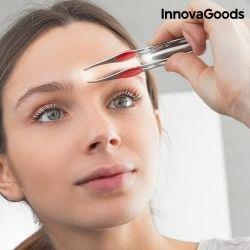 pinzette per depilazione con led innovagoods
