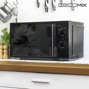 microonde con grill cecomix all black 1368 20 l 700w nero