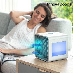 mini condizionatore evaporativo portatile con led freezy cube innovagoods 500 ml