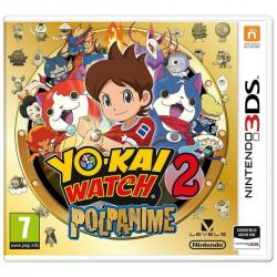 videogioco 3ds yo-kai watch 2: polpanime + medaglia