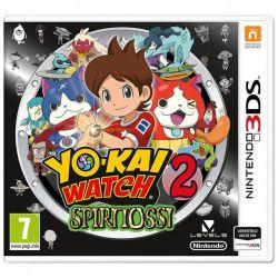 videogioco 3ds yo-kai watch 2: spiritossi + medaglia