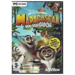 videogioco pc madagascar mini-maxi giochi