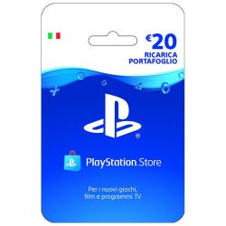playstation live card hang ricarica 20€