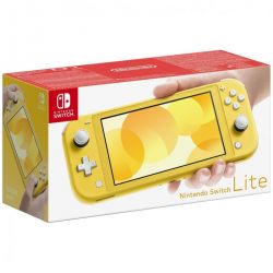 console nintendo switch lite giallo