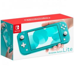 console nintendo switch lite turchese