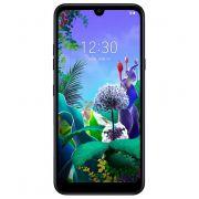 """smartphone lg q60 lmx525eaw 3+64gb 6.26"""" aurora black dual sim italia"""