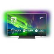 "smart tv philips 55pus7504 55"" 4k ultra hd led wifi ambilight grigio"