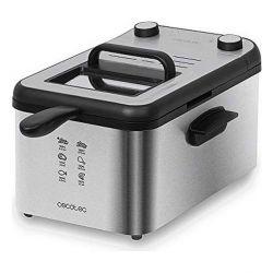 friggitrice cecotec cleanfry infinity 3000 3 l 2400w nero inox
