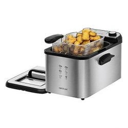 friggitrice cecotec cleanfry infinity 4000 4 l 3270w nero argentato