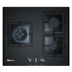 piano cottura a gas balay 3etg663hb. 60 cm 60 cm nero geam 3 fornelli
