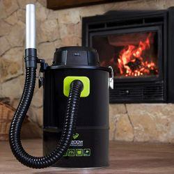 aspirapolvere per cenere cecoclean powerash 5084 20 l 1200w nero verde cecotec