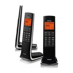 telefono cordless brondi lemure nero