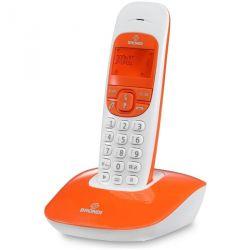 telefono cordless brondi nice arancio