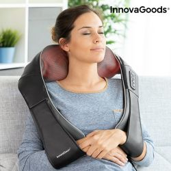 massaggiatore shiatsu pro massaki innovagoods 24w