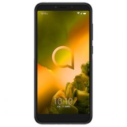 "smartphone alcatel 1s 2019 5024f 4+64gb 5.5"" metallic black dual sim italia"