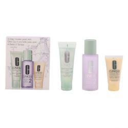 cofanetto cosmetici donna 3 steps intro skin type ii clinique 3 pz 100 ml