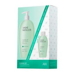 cofanetto cosmetici donna clean up anne möller 2 pz 400 ml