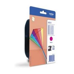 cartuccia ad inchiostro originale brother lc223mbp magenta