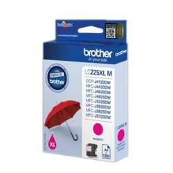 cartuccia ad inchiostro originale brother lc225xlmbp magenta