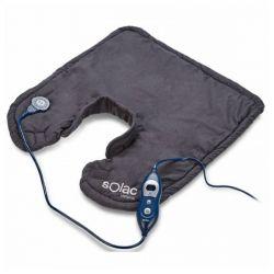 cuscinetto termico per cervicale e spalle solac ct8690 100w 49 x 56 cm nero