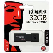 pendrive kingston  usb 3.0 32gb dt100g3/32gb