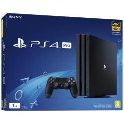 console sony playstation 4 1tb pro gamma black