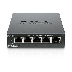 router da tavolo d-link des-105 lan nero