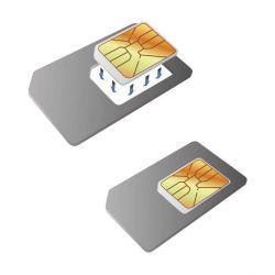 adattatore di scheda da nano sim a sim ksix bigbuy tech