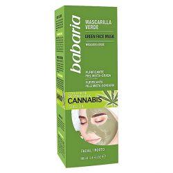 maschera purificante cannabis babaria 100 ml