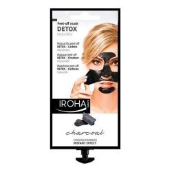 maschera purificante detox charcoal black iroha