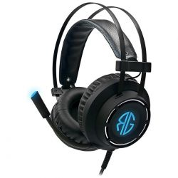 cuffie console rg gaming soundgame m06 elite pc + mic. rg-m06l