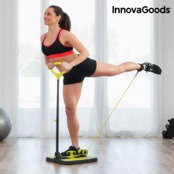 pedana fitness per glutei e gambe con guida per esercizi innovagoods