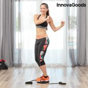 pedana rotante cardio con guida per gli esercizi innovagoods