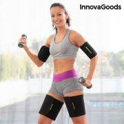 fasce sportive con effetto sauna per braccia e gambe innovagoods pacco da 4