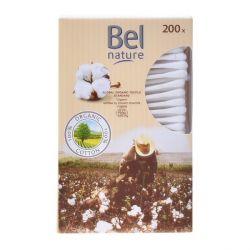 bastoncini di cotone nature bel 200 pz