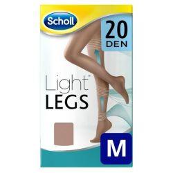 calze a compressione leggera nude dr scholl 20 den m