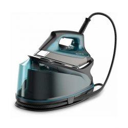 ferro da stiro con caldaia rowenta dg7623 1,1 l 6,3 bar 325 g/min 2200w nero azzurro