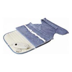 cuscino elettrico per collo e schiena grupo fm cs101 100w azzurro 60 x 40 cm