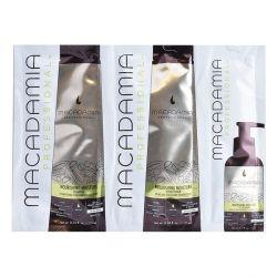 set per capelli donna nourishing moisture trio macadamia 3 pz