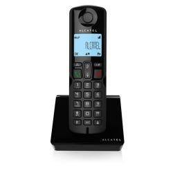 telefono cordless alcatel s250 dect nero