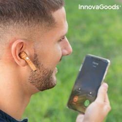 auricolari senza fili smartpods w wood innovagoods