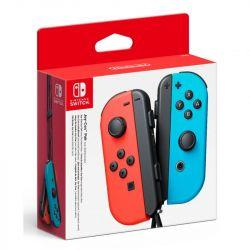 switch joy-con coppia controller rosso neon / blu neon