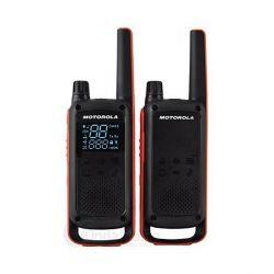 walkie-talkie motorola t82 2 pz nero arancio