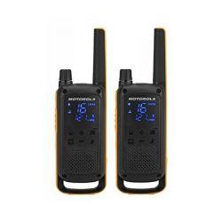 walkie-talkie motorola t82 extreme 2 pz nero giallo