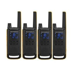 walkie-talkie motorola t82 extreme 4 pz nero giallo