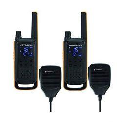 walkie-talkie motorola t82 extreme rsm 2 pz nero giallo