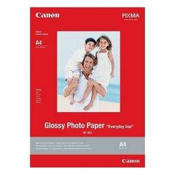 carta fotografica lucida canon gp-501 20 foglie