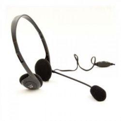 auricolari con microfono ewent ew3563