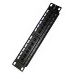 patch panel 12 porte utp categoria 6 monolyth 3002001 10""