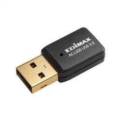 scheda di rete wi-fi edimax ew-7822utc ac1200 usb 3.0 usb nero